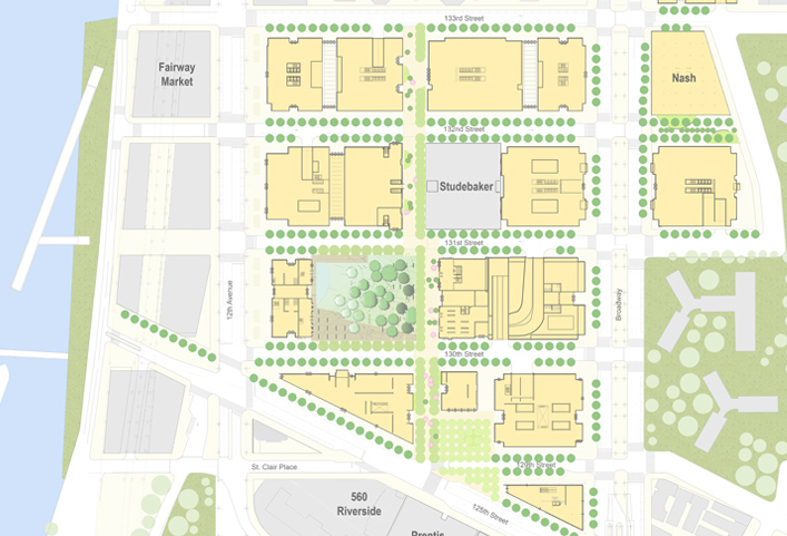 Manhattanville Campus Map.Manhattanville Campus Geoffrey Wienner Gww Planning And Development